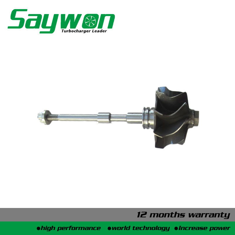 GT1849V 727477-5007S 706476-5004S 701864-0007 732252-0001 727477-0007 shaft and wheel